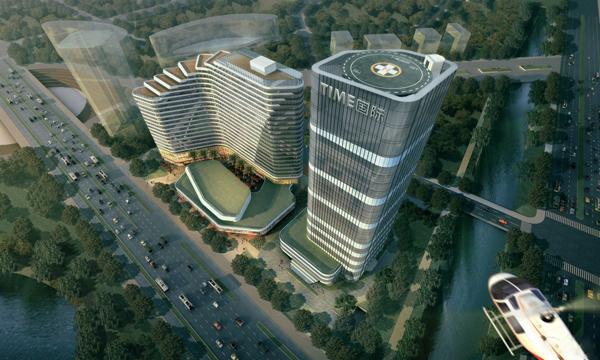 泰美国际大厦效果图-小柯网