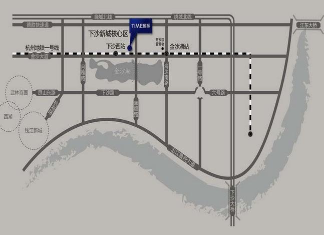 泰美国际大厦交通图-小柯网