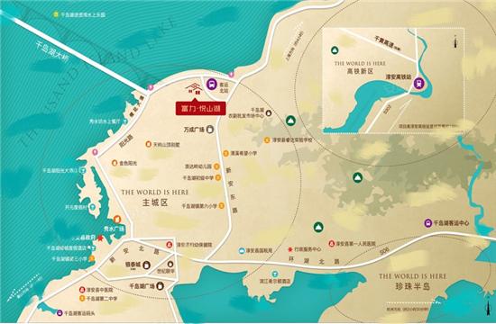 富力湖滨悦居(富力悦山湖)交通图-小柯网