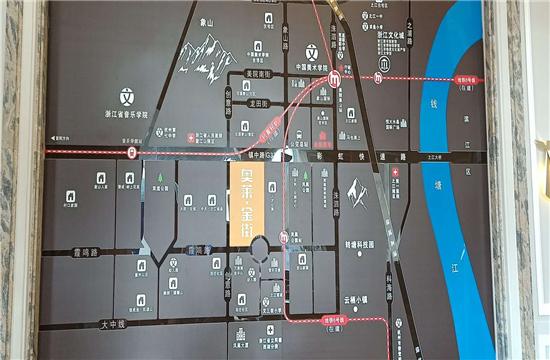 金街美地二期(奥莱金街)交通图-小柯网