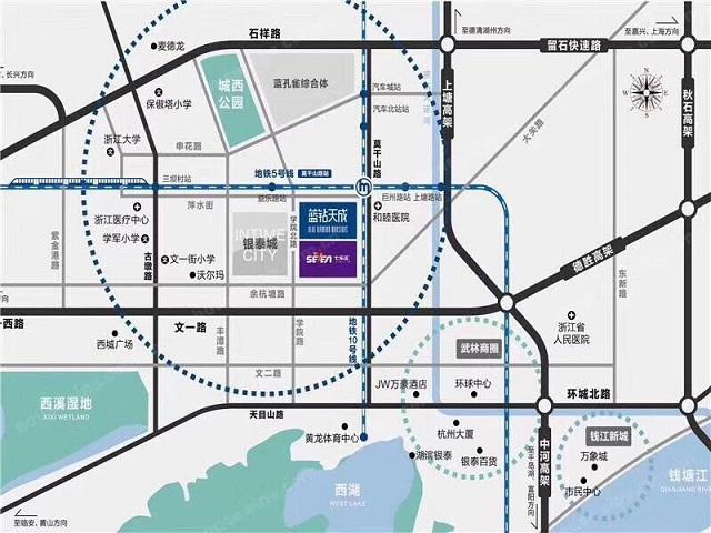 七乐汇商业广场交通图-小柯网