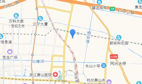 世纪建材城商铺交通图-小柯网