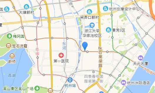 紫晶商务城交通图-小柯网