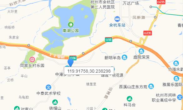 中港西湖院子交通图-小柯网