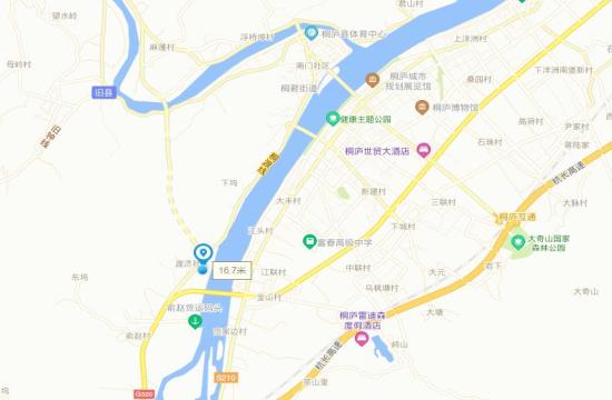 荣正山水半岛交通图-小柯网