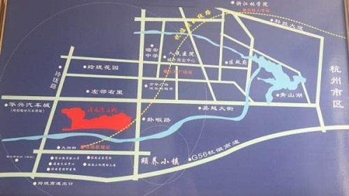 浅水湾庄园交通图-小柯网