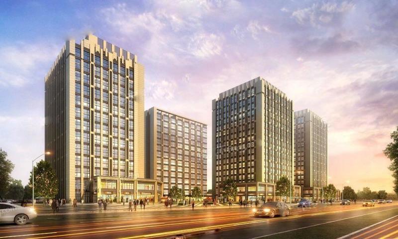 泛亚中心公寓效果图-小柯网