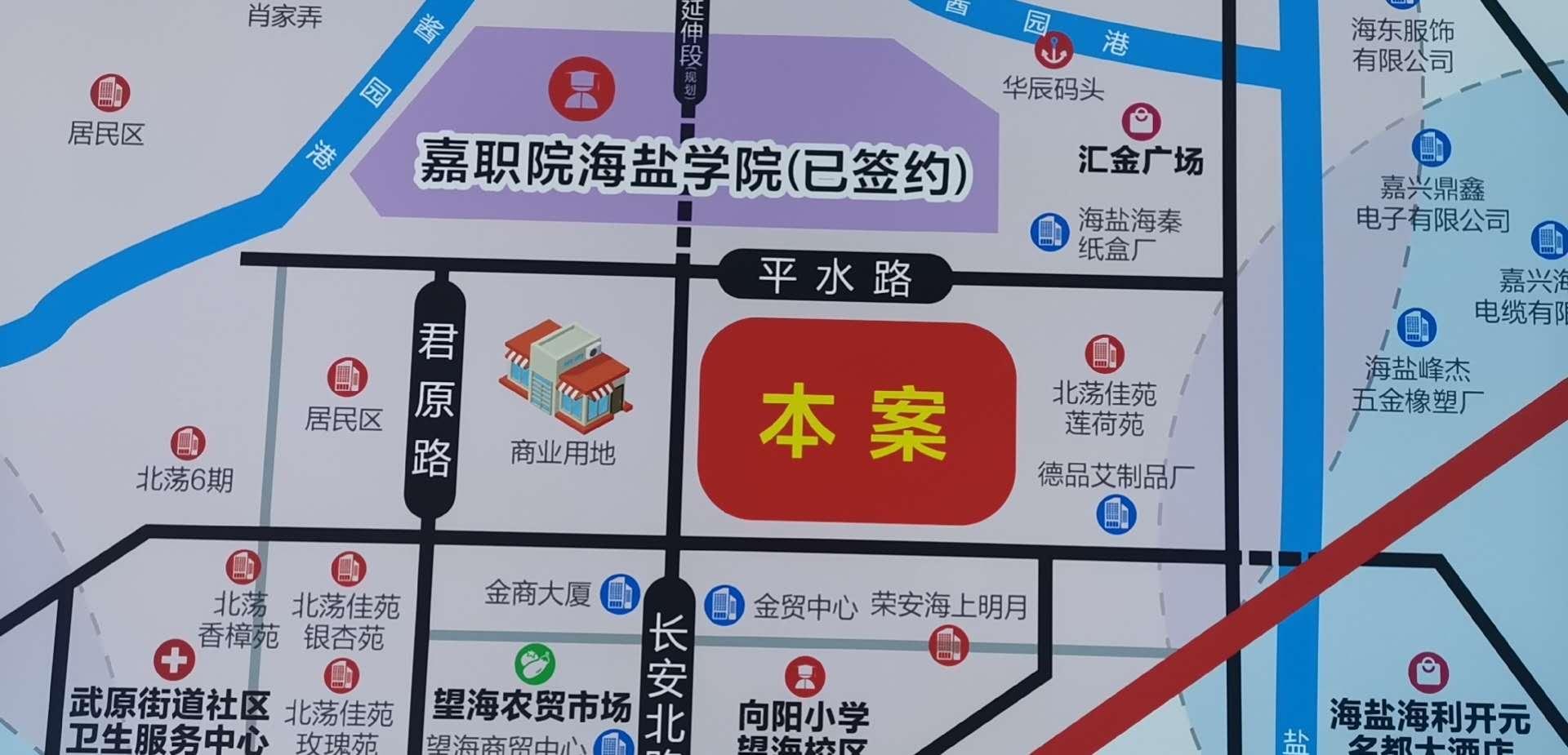 长安商业广场交通图-小柯网