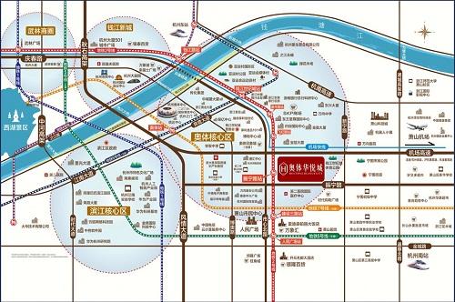 奥体华悦城交通图-小柯网