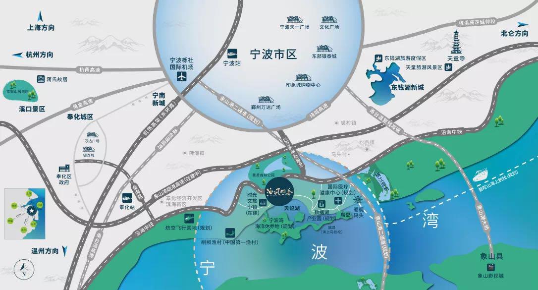 海风四季交通图-小柯网