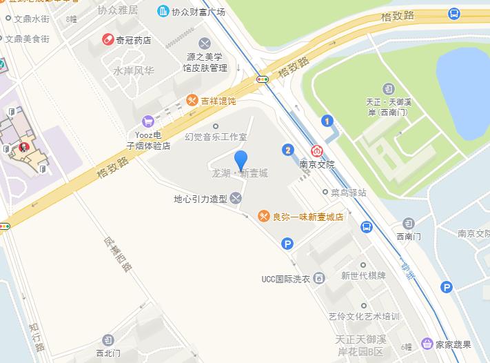 龙湖新壹城交通图-小柯网