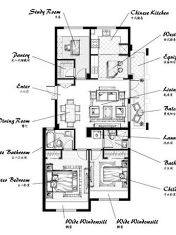 郡原.九润公寓户型