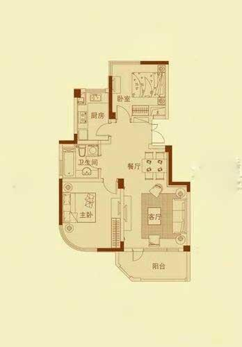 绿城.丽江公寓户型