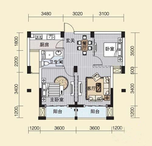 中奥.江锦国际户型