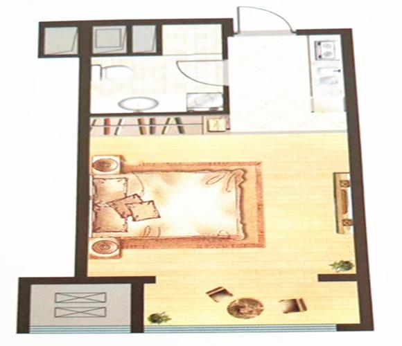 海宁城仕公寓户型