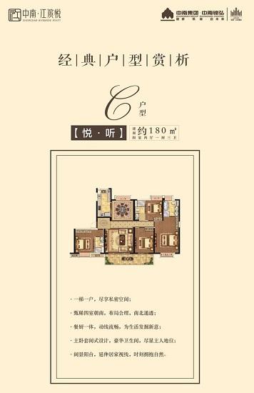 中南江滨悦户型