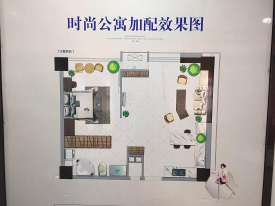 三峰国际公寓户型