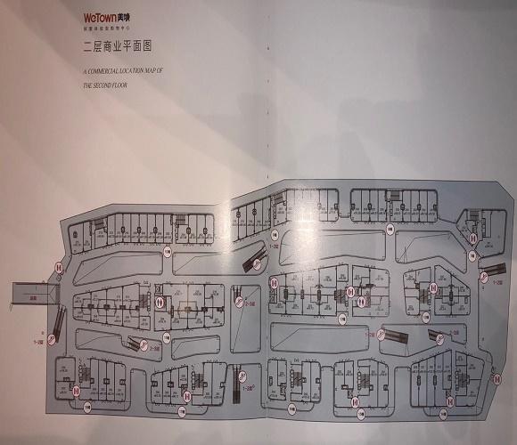 华夏之心商铺户型-小柯网