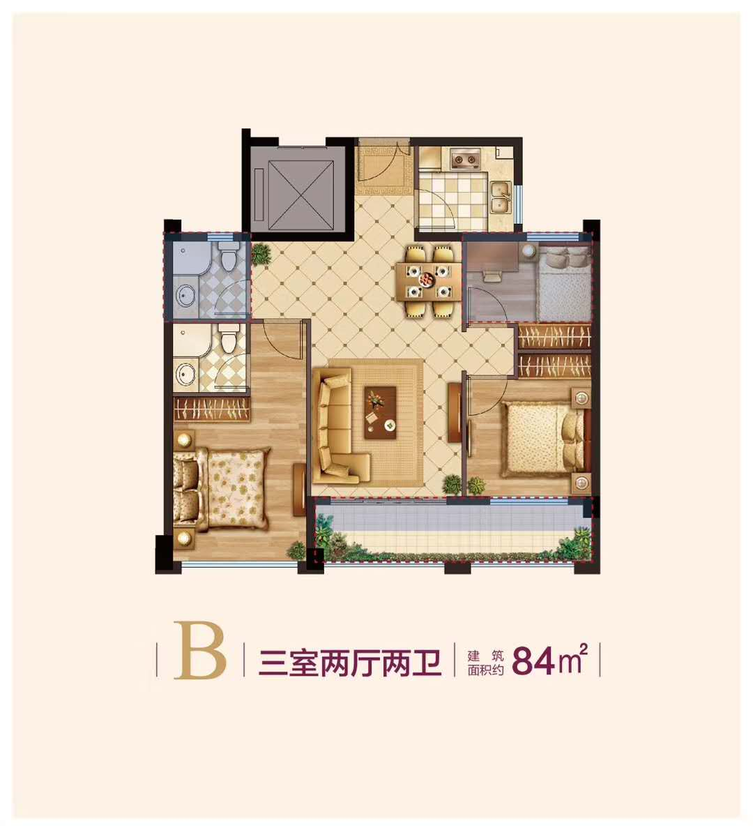 丽景春天户型-小柯网