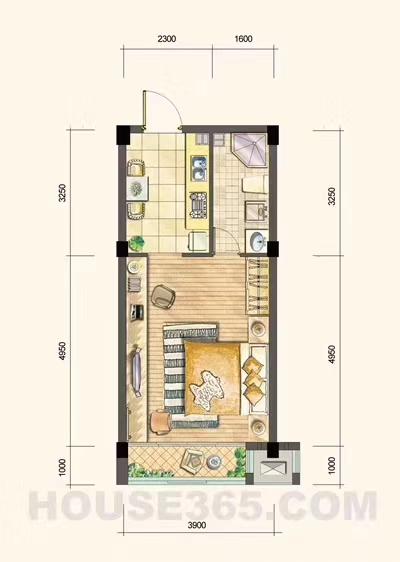 名典公寓户型