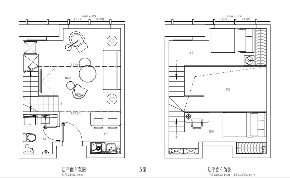 中铁国际公馆户型