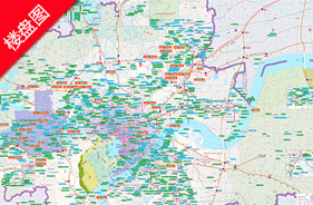 泰美国际大厦楼盘地图-小柯网